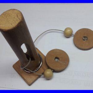 פזל עמוד עץ – חלץ את הטבעת – קושי 7 מתוך 10