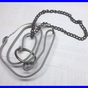 פזל מקורי – מבוך עגול ממתכת – חלץ את השרשרת